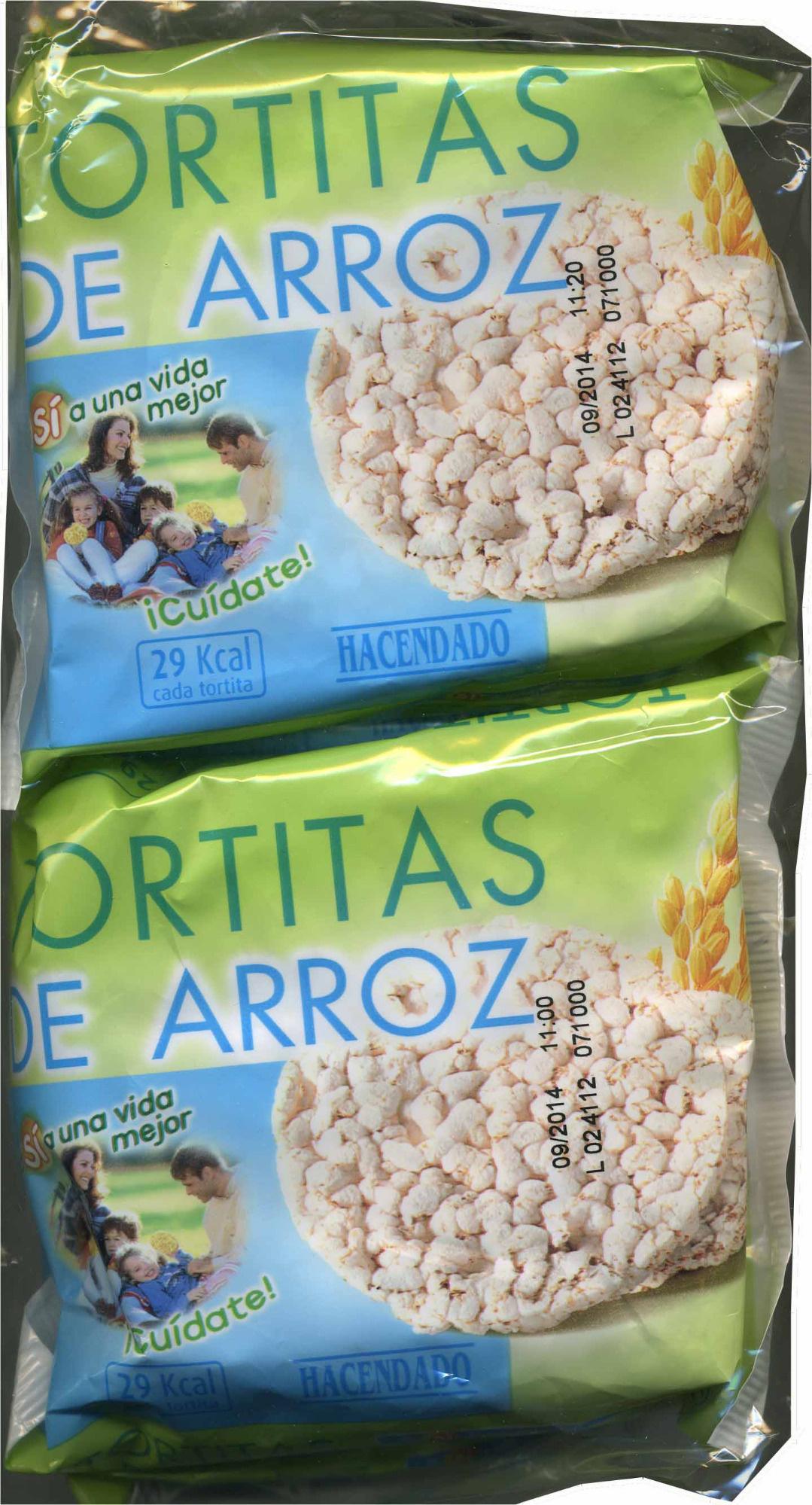 Tortitas de arroz - Producto - es