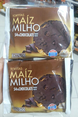 Tortitas de maiz chocolate negro - Product - es