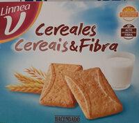 Galleta con cereales y fibra - Producto