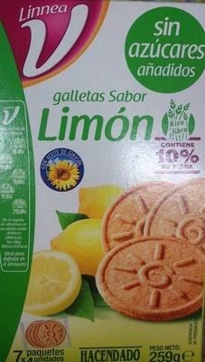 Linnea V Galletas sabor limón - Producto