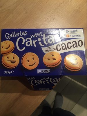 Mini caritas galletas - Produit - fr
