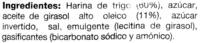 Galletas El Sabor del Horno - DESCATALOGADO - Ingredients