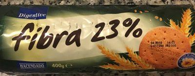 Galletas Digestive Fibra 23% - Producto