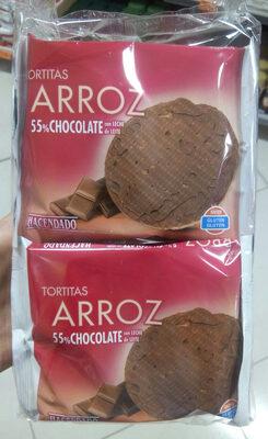 Producto De Arroz Extrusionado Con Chocolate Con Leche - Producto
