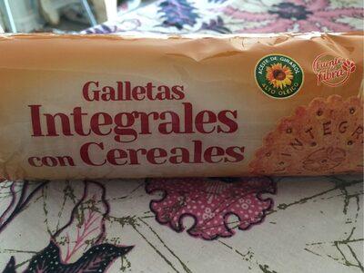 Galletas integrales con cereales - Product