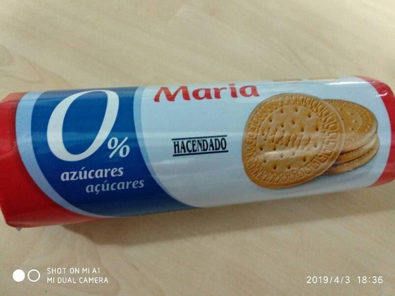 Maria 0% azúcares - Producte