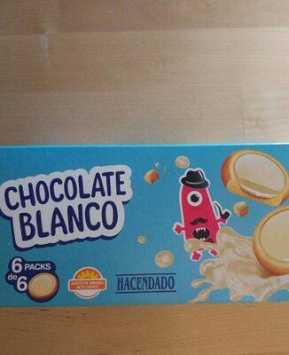 Galleta rellena de crema y recubierta de chocolate blanco - 产品 - es