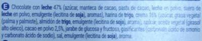 Caocream - Ingredients - es