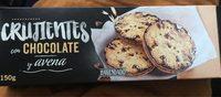Crujientes con chocolate y avena - Producte - es