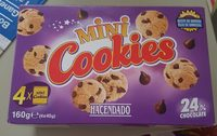 Mini Cookies. Galletas Con Chocolate. - Product