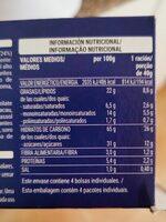 Mini cookies - Voedingswaarden - es