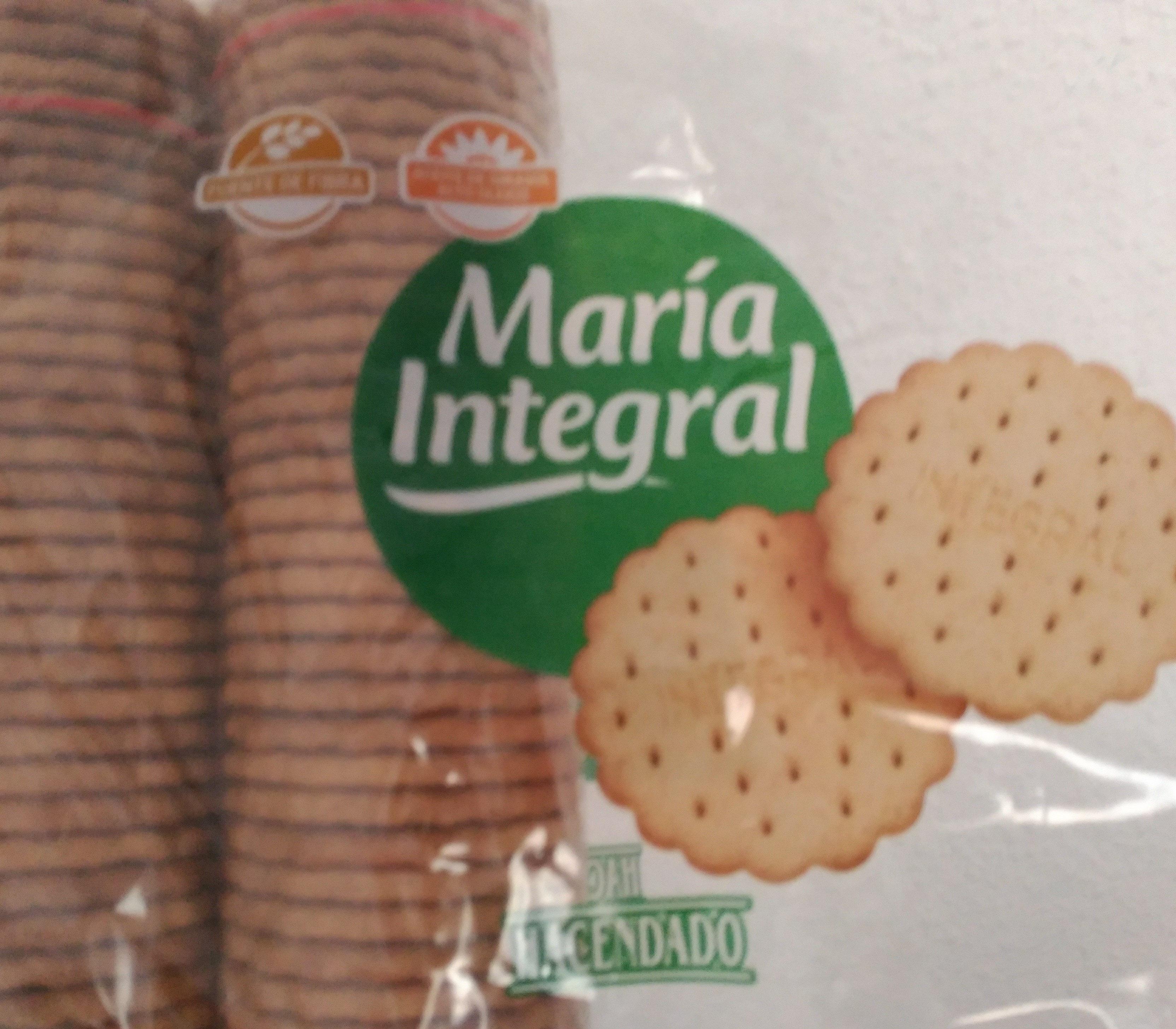Galletas maria hacendado valor nutricional