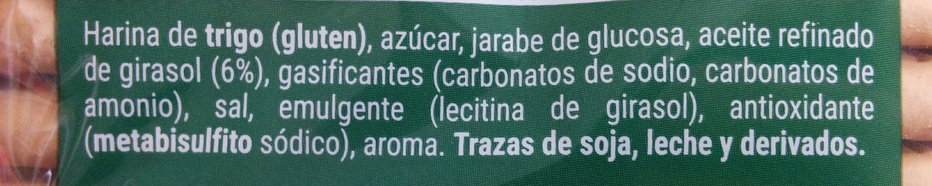 Galleta hojaldrada - Ingredienti - es