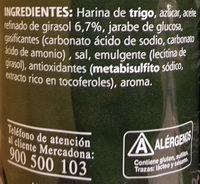 Galleta maría hojaldrada - Ingredients - es