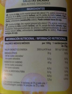 Saladitas - Informació nutricional - es
