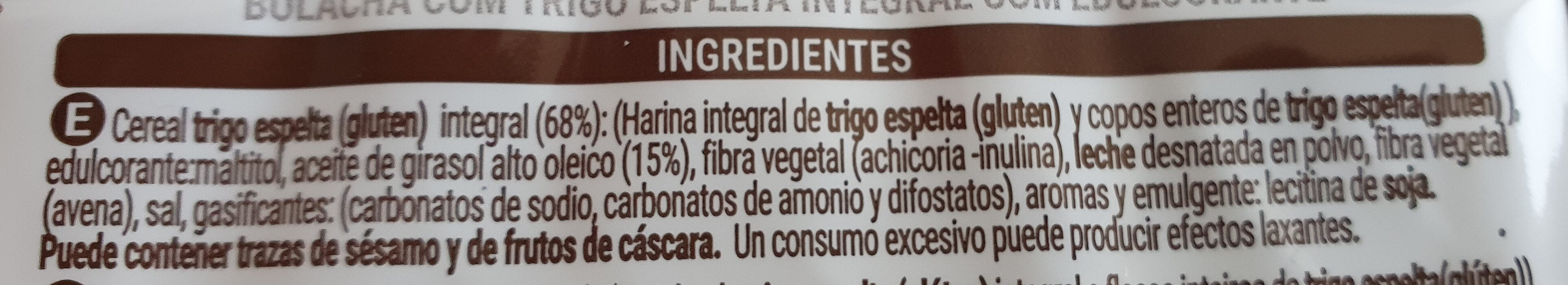 Trigo espelta - Ingredienti - es