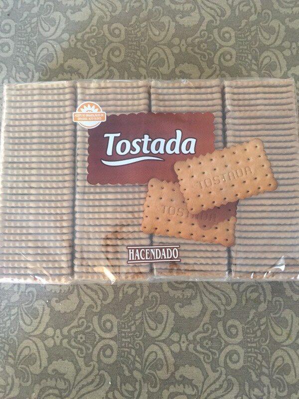 Galletas Tostada - Información nutricional