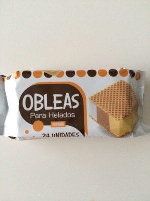 Obleas para helados - Product
