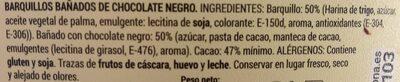 Turbitos bañados - Ingredients