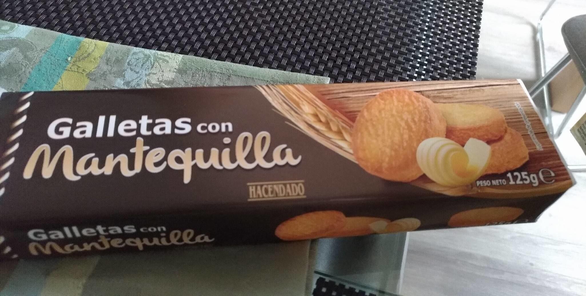 Galletas con mantequilla - Producto