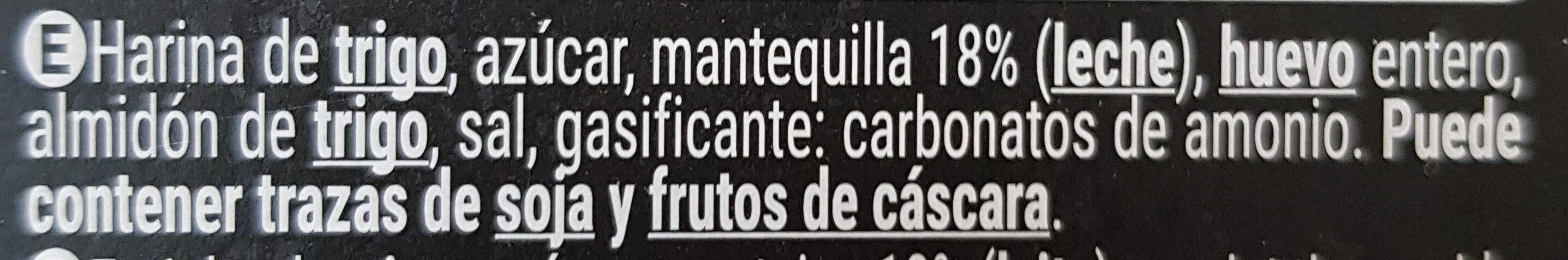 Belgas - Ingredientes - es