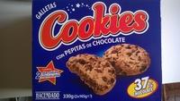 Cookies con pepitas de chocolate - Producto