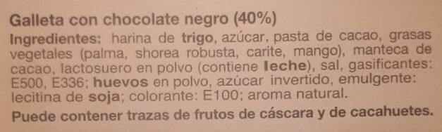 Chocks - Ingredients - es