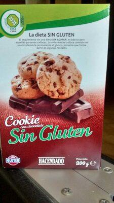 Cookies sin gluten - Product