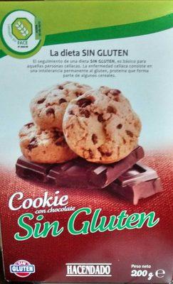 Cookies au Chocolat sans Gluten - Producto