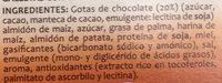 Cookies au Chocolat sans Gluten - Ingredientes