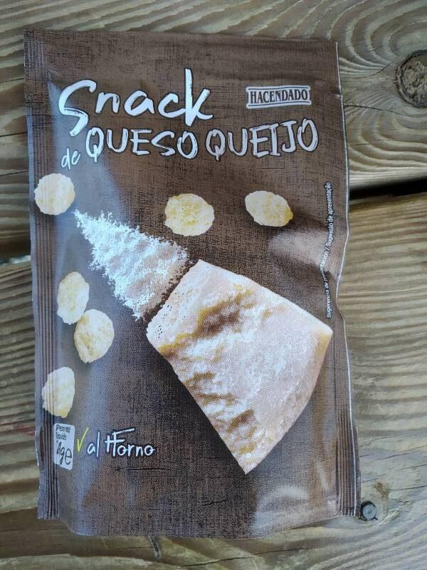Snack de queso 100% crujiente - Producto