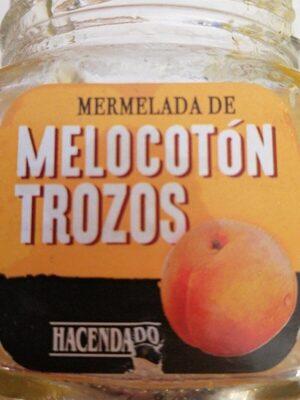 Mermelada de melocoton en trozos