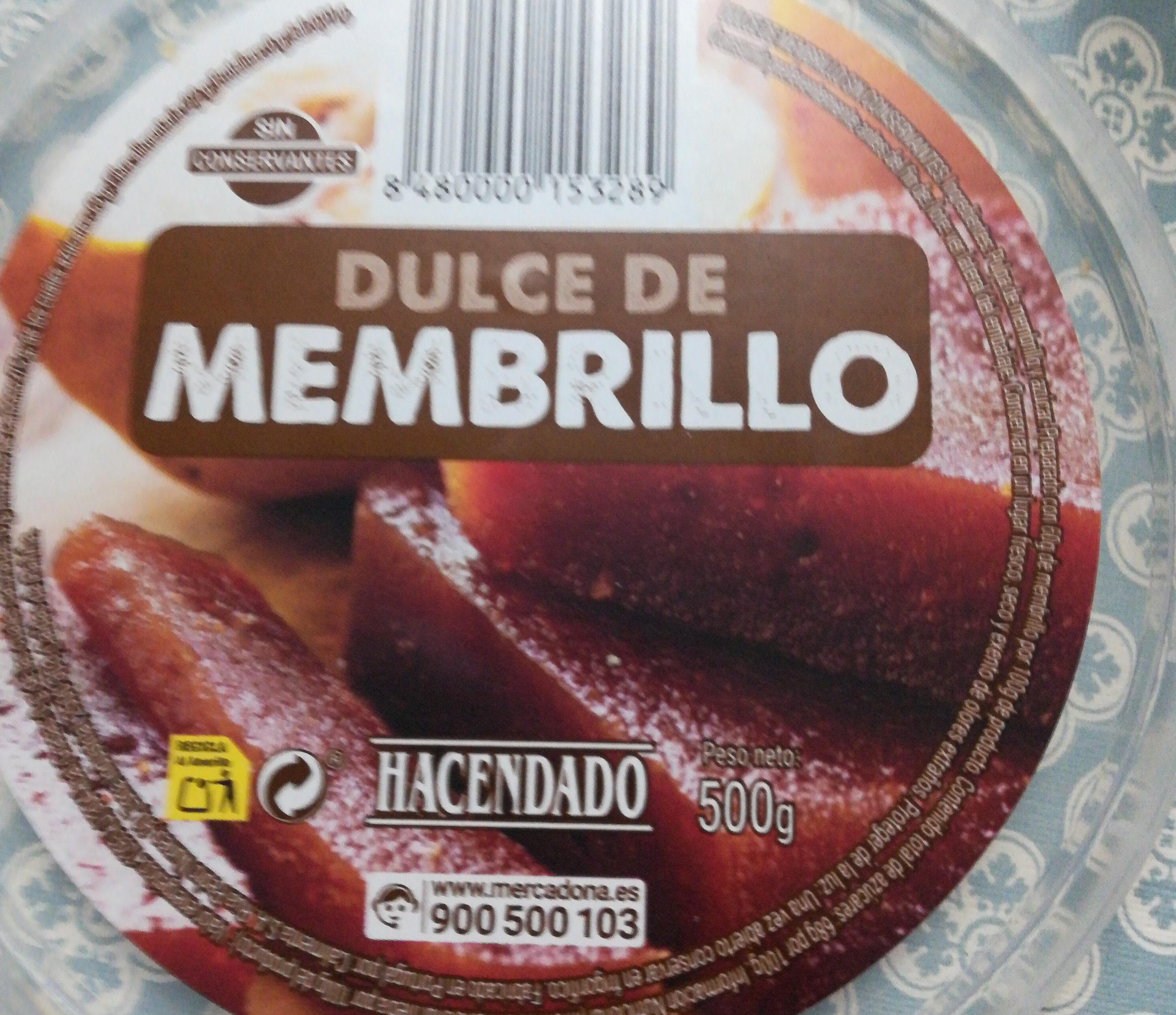 Dulce de Membrillo - 成分 - es