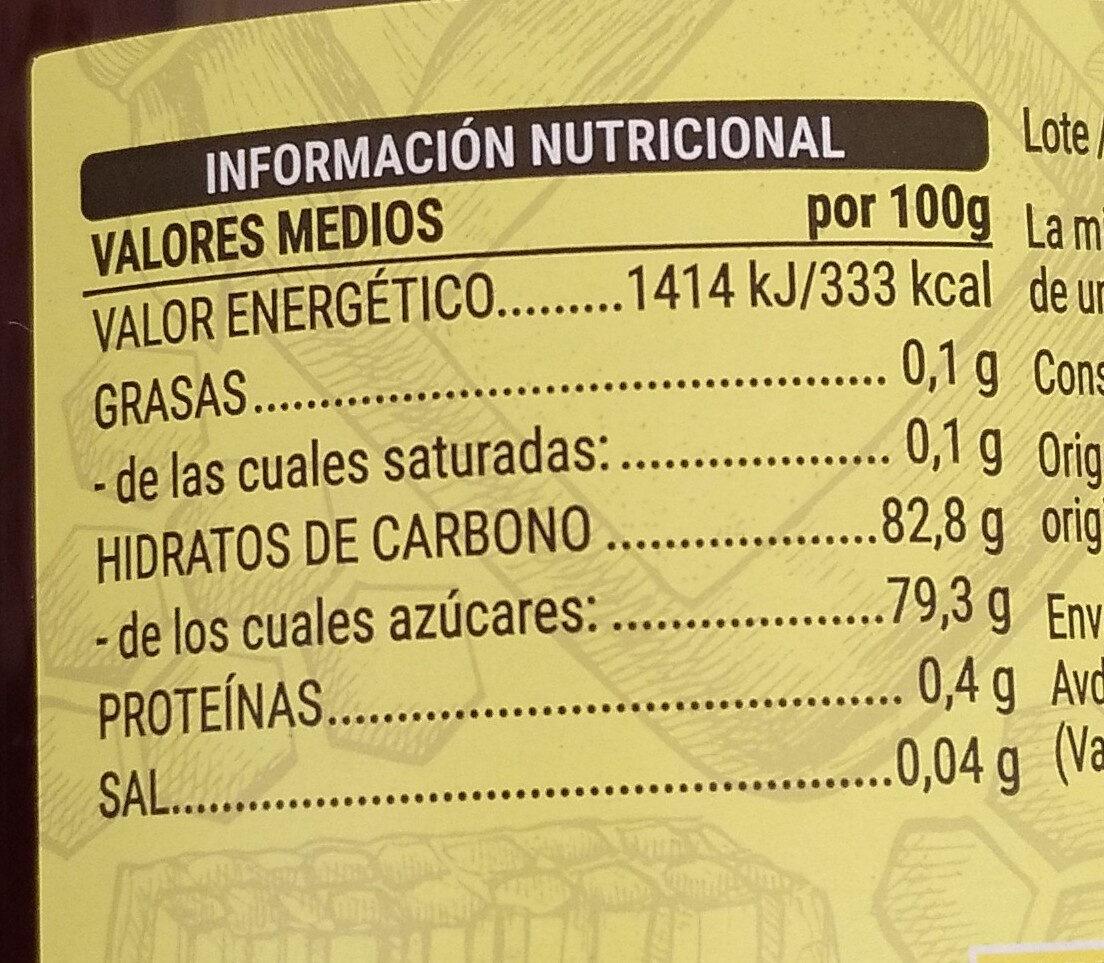 Miel de mil flores - Información nutricional - es