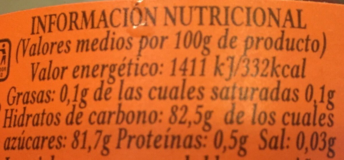 Miel de naranjo - Ingredientes - es