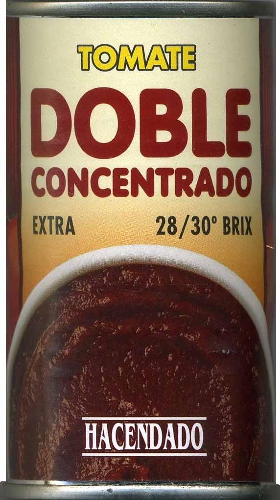 Tomate doble concentrado - Producto - es