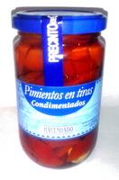 Pimientos en tiras condimentados - Producte