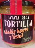 Patata para tortilla - Producto - es