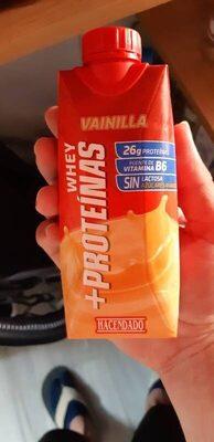 Bebida whey proteínas - Producte