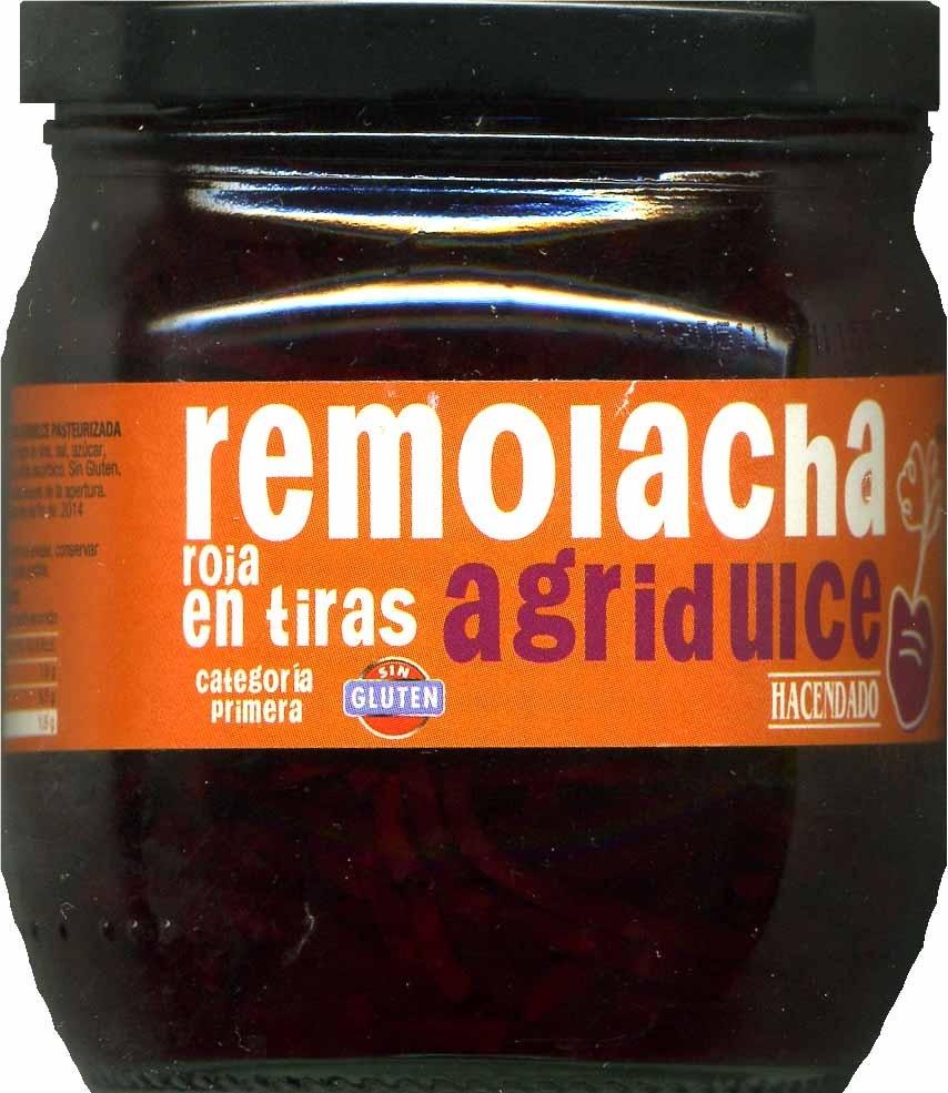 Remolacha agridulce - Produit