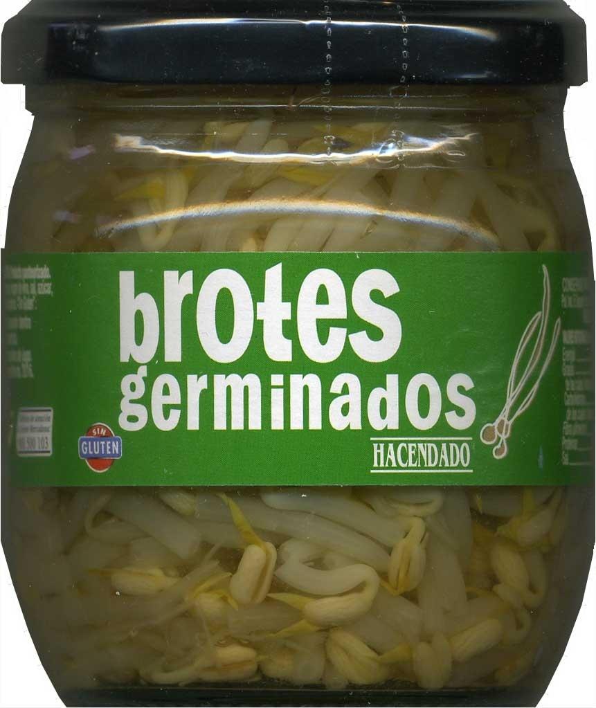 """Brotes de judía mungo en conserva """"Hacendado"""" - Product"""