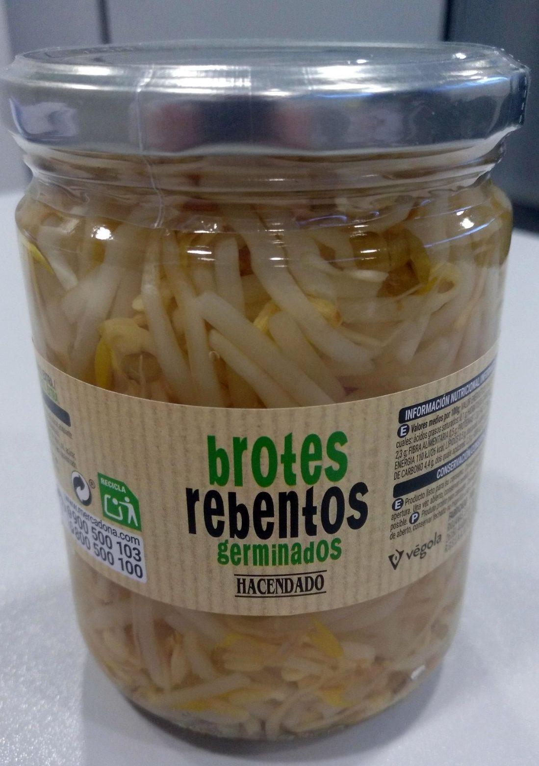 Brotes Germinados de soja - Producto - es