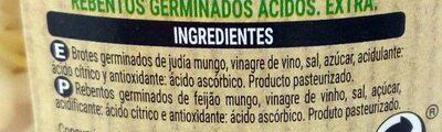 Brotes germinados - Ingrediënten - es