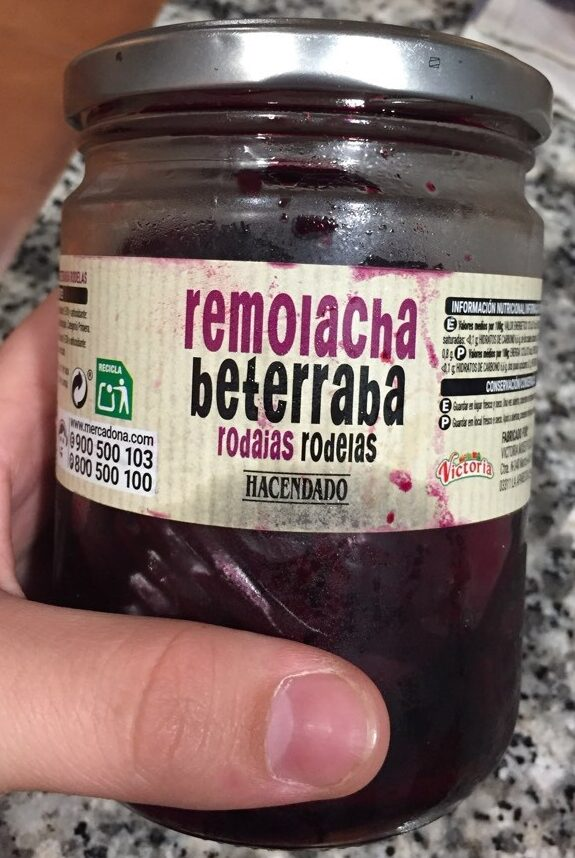 Remolacha rodajas - Produit - es