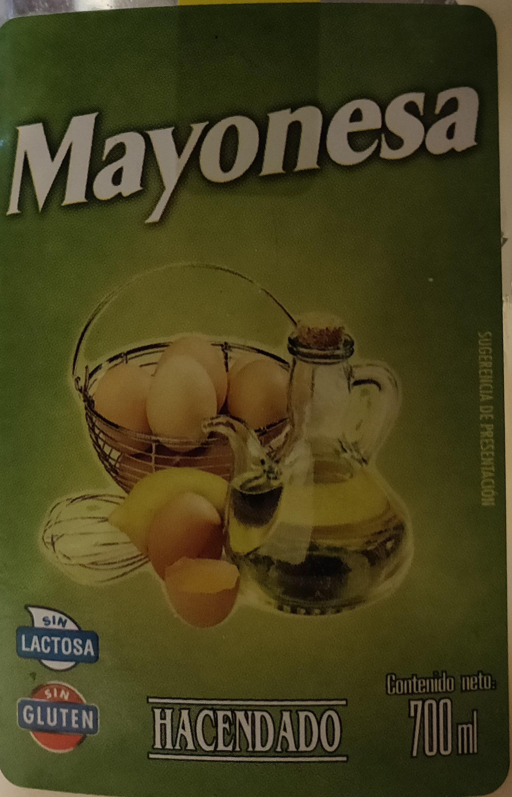 Mayonesa - Producto