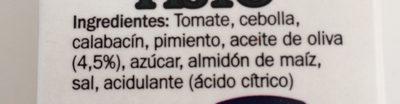 Fritada pisto - Ingredientes - es