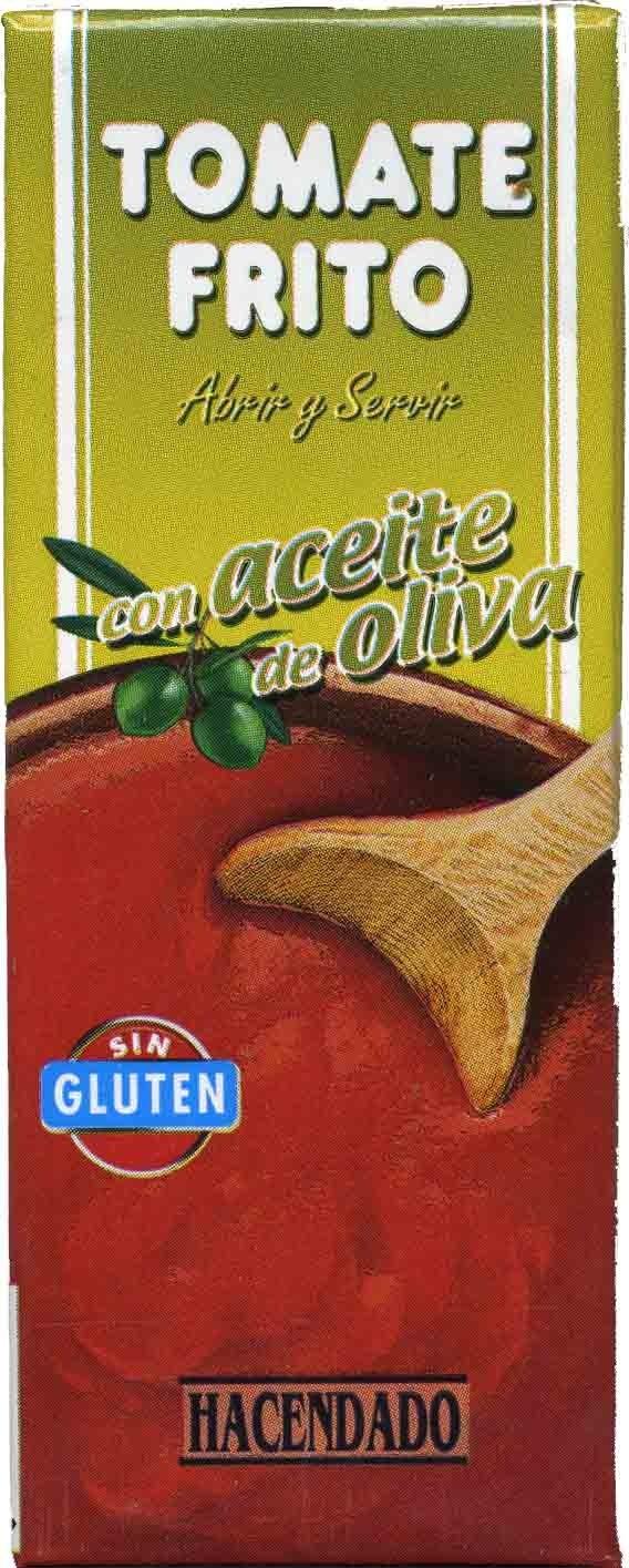 Tomate frito con aceite de oliva - Producto