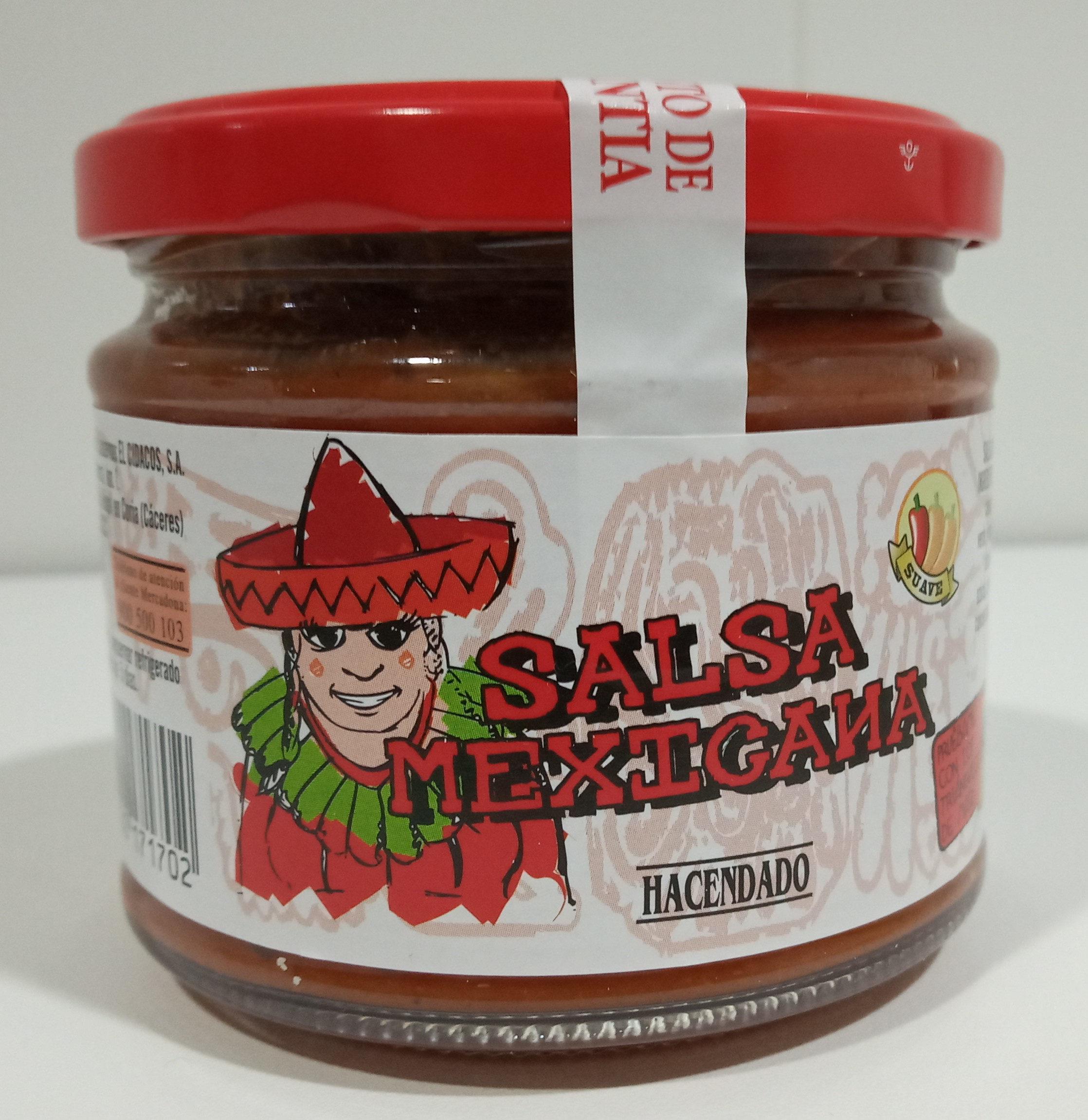 Salsa mexicana suave - Producte