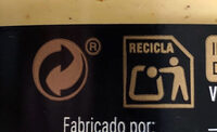 Mostaza dijon - Recycling instructions and/or packaging information - es