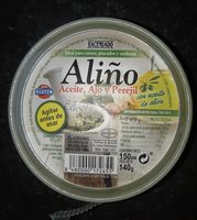 Aliño - Ingredients